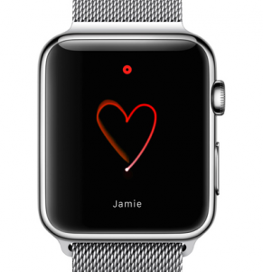 Apple Watch スケッチ絵