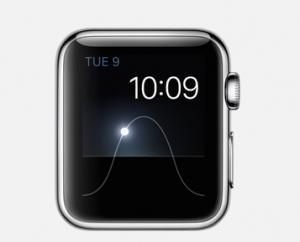 Apple Watch 日の出日の入