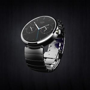 まるで時計、Moto 360の丸型のデザインはすばらしい