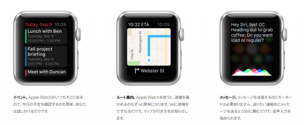 Apple Watch機能