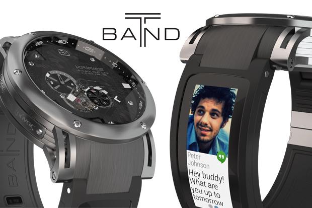 ベルトがスマートウォッチ Kairos T-band Smartwatch