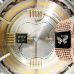 Appleストアに金庫が・・・高級モデルのアップルウォッチを保管!