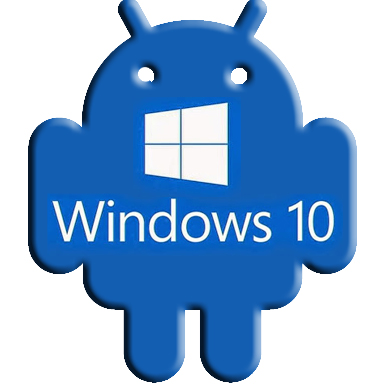 AndroidWindows 10_