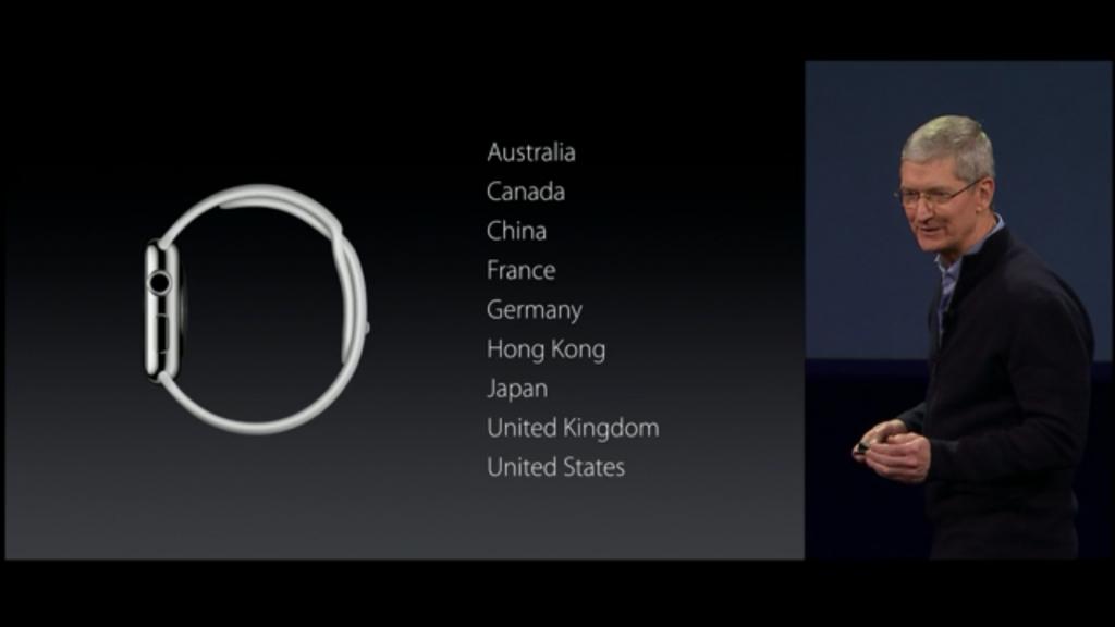 Apple Watch 日本 発売日 4月24日