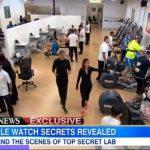 アップルウォッチ 超極秘実験室が米ABCニュースで公開!すごいテストが行なわれていたんだ