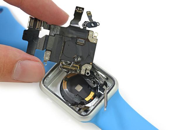 アップルウォッチ センサー部品