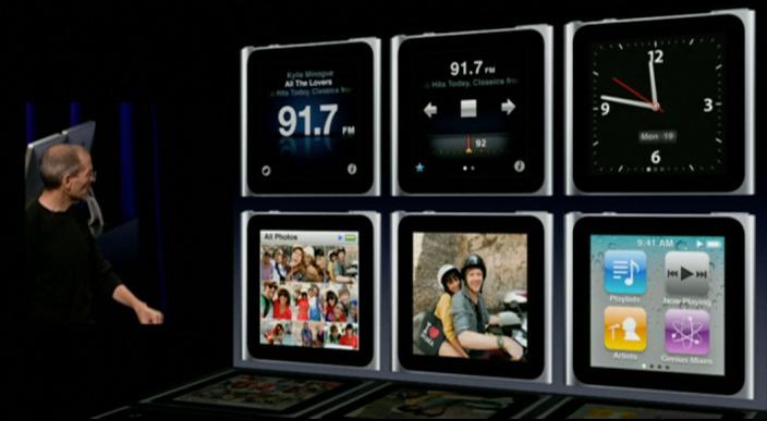 ジョブス iPod nano