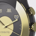 充電不要でカッコいいアナログ風スマートウォッチ「Cogito Fit」しかも完全防水