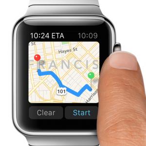 アップルウォッチで一番体験してみたいマップ機能!