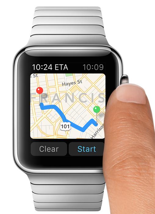 Apple Watch マップ