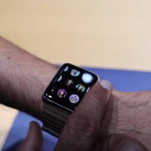 画面がメッチャきれい!Apple Watchデモ機動画!