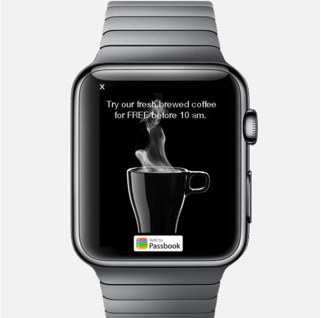 アップルウォッチ広告