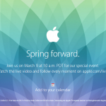 3月9日のスペシャルイベントがライブで見れるんだって!アップルウォッチの詳細がわかるかな