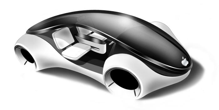 Appleのブランドの電気自動車