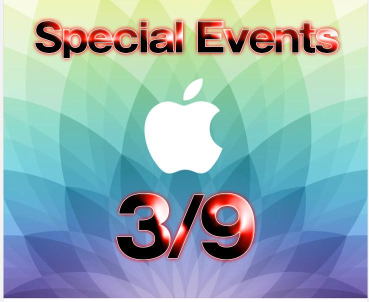 Apple Watchと12インチMacBook Airのイベント