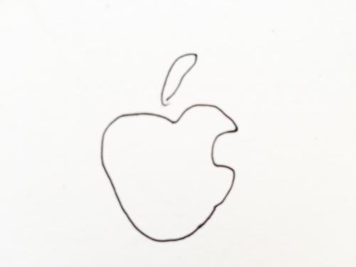 アップルロゴ 手書き
