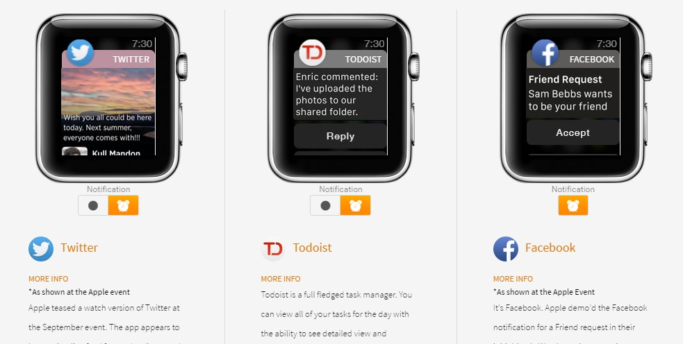 Apple Watch アプリ ツイッター