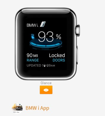 BMW i App Apple Watch
