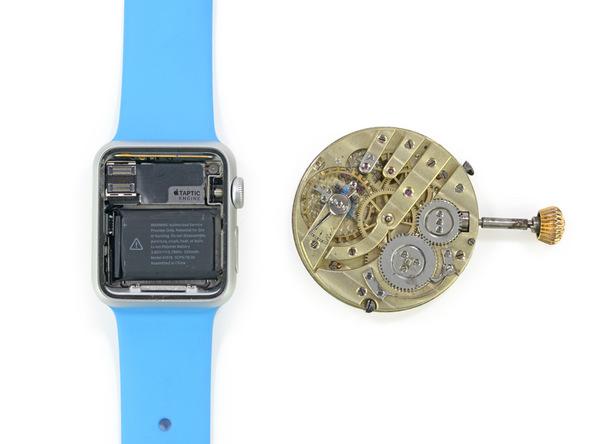 アップルウォッチ 古い機械式時計